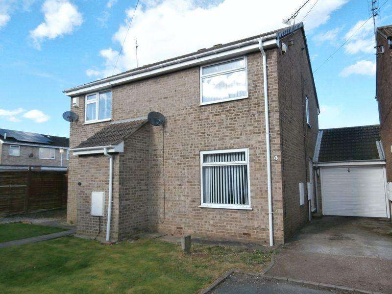 2 Bedrooms Semi Detached House for sale in Poultney Garth, Hedon