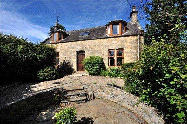 3 Bedrooms Detached House for sale in Greenbrae, Elgin Road, Rothes, Aberlour, Moray, AB38