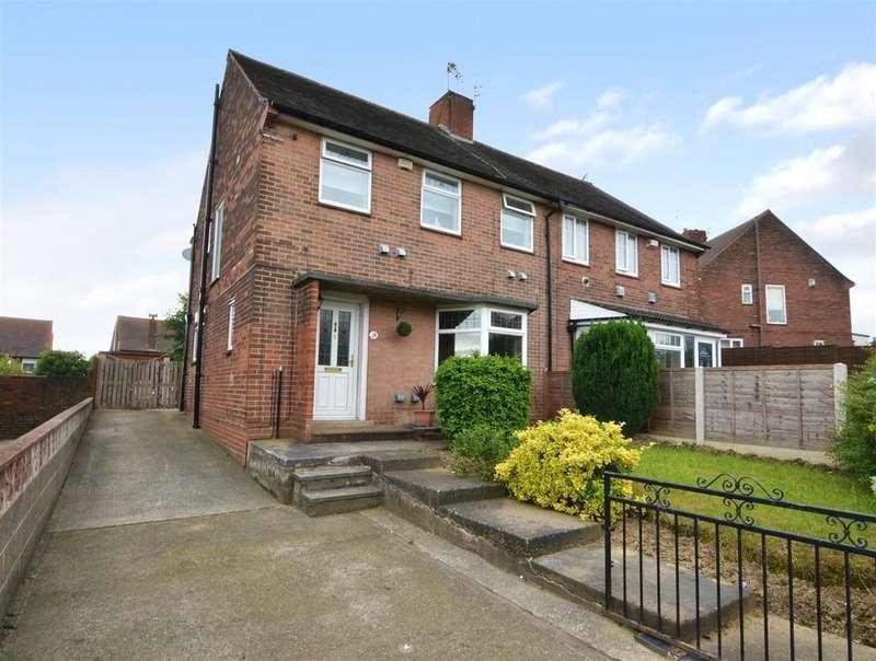 3 Bedrooms Semi Detached House for sale in Cockshott Lane, Bramley