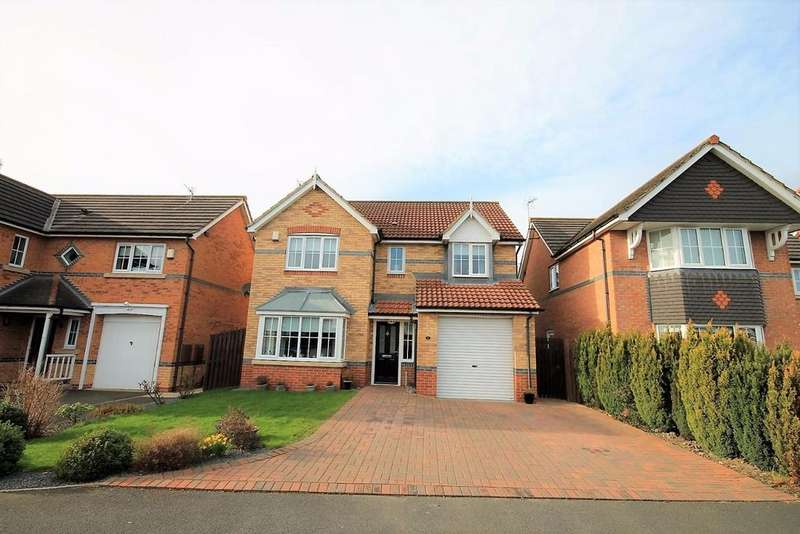 4 Bedrooms Detached House for sale in Minster Court, Willington