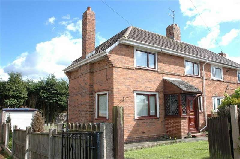 3 Bedrooms Semi Detached House for sale in Hockenhull Avenue, Tarvin, Chester