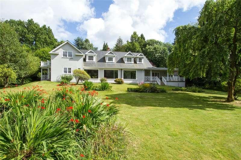 5 Bedrooms Detached House for sale in Hatch Lane, Haslemere, Surrey, GU27