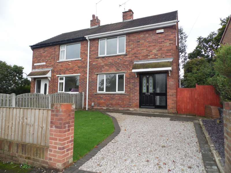 3 Bedrooms Semi Detached House for sale in Copley Crescent Doncaster Scawsby