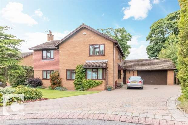 4 Bedrooms Detached House for sale in Leighton Park, Neston, Cheshire