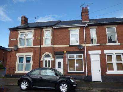 2 Bedrooms Terraced House for sale in May Street, Derby, Derbyshire