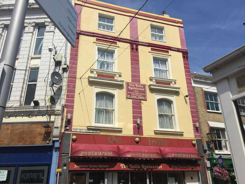 6 Bedrooms Maisonette Flat for sale in The Old High Street, Folkestone CT20