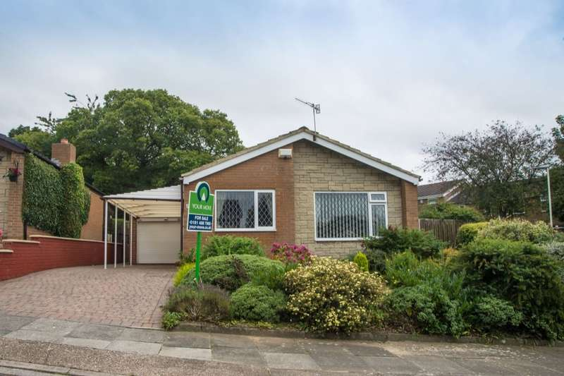 2 Bedrooms Detached Bungalow for sale in Corsair, Whickham, Newcastle Upon Tyne, NE16