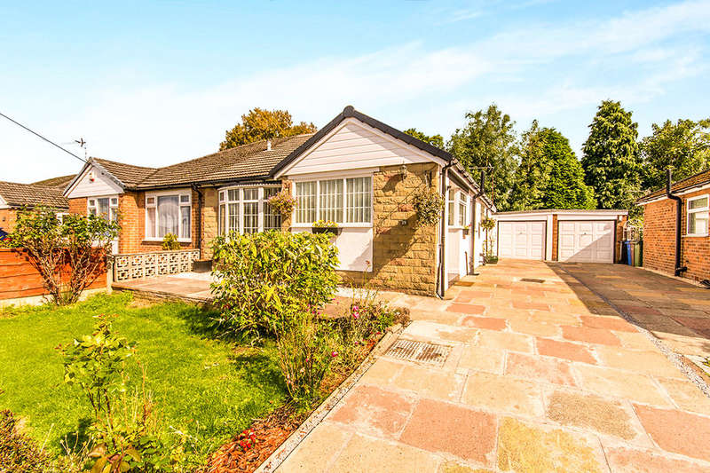 2 Bedrooms Semi Detached Bungalow for sale in Portloe Road, CHEADLE, SK8