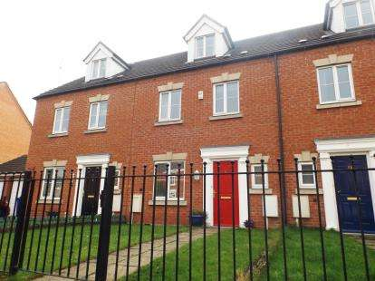 4 Bedrooms Town House for sale in Leicester Gardens, Avenue Road, Chesterfield, Derbyshire