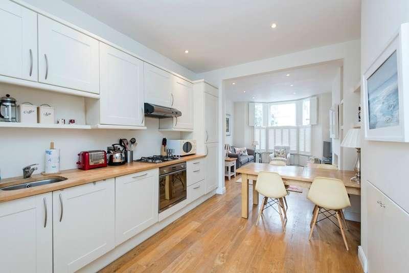 1 Bedroom Ground Flat for sale in Sugden Road, Battersea, London