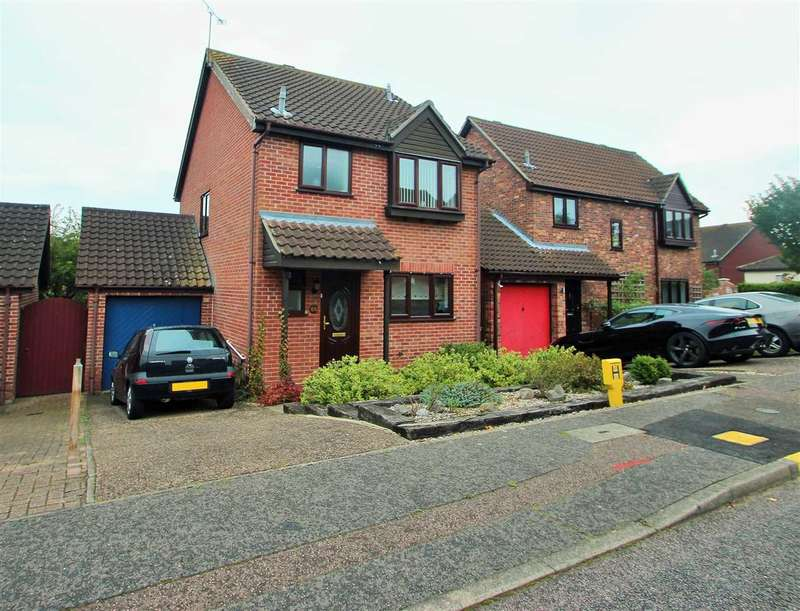 3 Bedrooms Link Detached House for sale in Egret Crescent, Longridge Park, Colchester