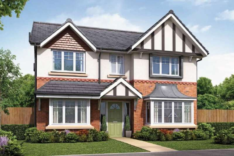 4 Bedrooms Detached House for sale in The Bayswater Walton Meadows, Walton-Le-Dale, Preston, PR5
