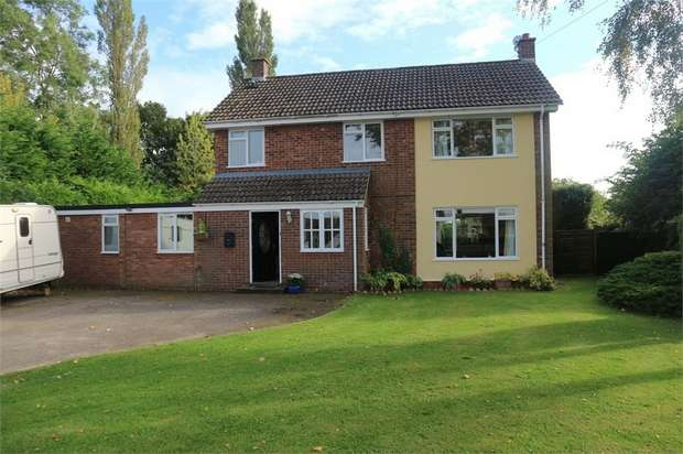 4 Bedrooms Detached House for sale in High Green, Great Moulton, Norwich, Norfolk