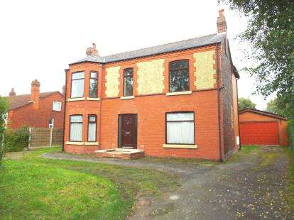 4 Bedrooms Detached House for sale in Kenyon Lane, Lowton, Warrington, Cheshire
