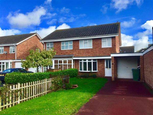 3 Bedrooms Semi Detached House for sale in Francis Close, Penkridge