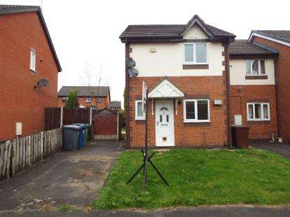 3 Bedrooms Semi Detached House for sale in Cherry Close, Bury, Manchester, Greater Manchester, BL9