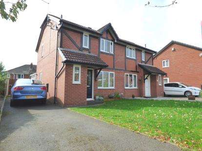 3 Bedrooms Semi Detached House for sale in The Campions, Lea, Preston, Lancashire, PR2