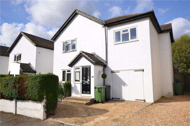 4 Bedrooms Detached House for sale in Cross Lane, Frimley Green, Camberley