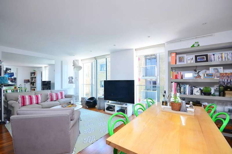 2 Bedrooms Flat for sale in Bermondsey Wall West, Shad Thames, SE16