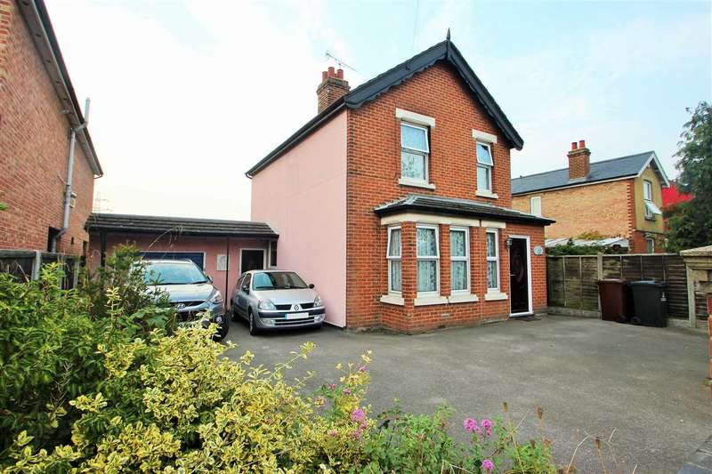 3 Bedrooms Detached House for sale in Old Heath Road, Colchester