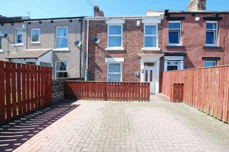 3 Bedrooms Terraced House for sale in Plessey Road, Blyth, NE24