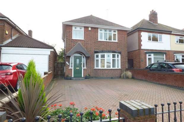 3 Bedrooms Detached House for sale in Arbury Road, Stockingford, Nuneaton, Warwickshire