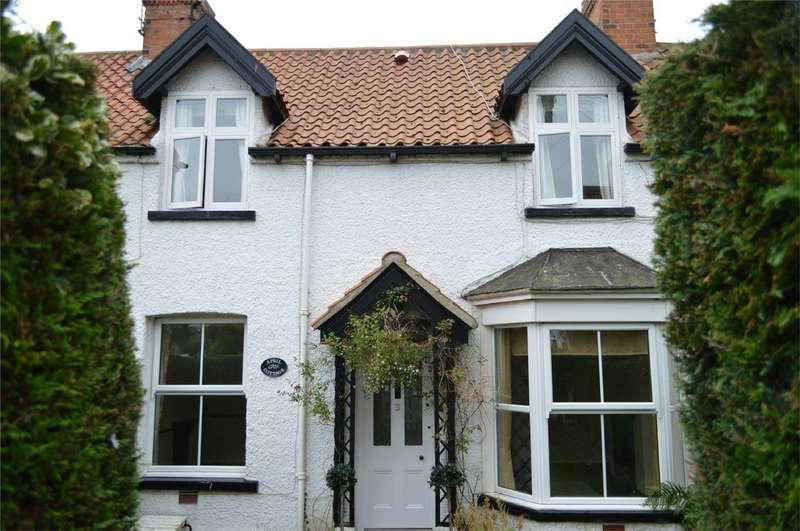 2 Bedrooms Terraced House for sale in 3 Eastgate View, Hornsea, East Riding of Yorkshire