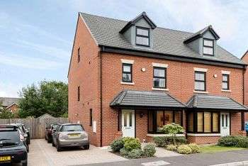 4 Bedrooms Semi Detached House for sale in Coppenhall Way, Sandbach, CW11 1JN