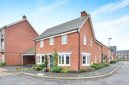 4 Bedrooms Detached House for sale in Anglesey View, Newton Leys, Bletchley, Milton Keynes