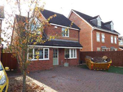 3 Bedrooms Detached House for sale in Aspen Drive, Longford, Coventry