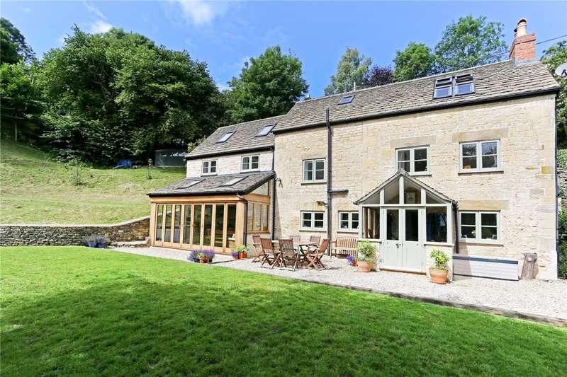 5 Bedrooms Detached House for sale in Beech Knapp, Burleigh, Stroud, Gloucestershire, GL5