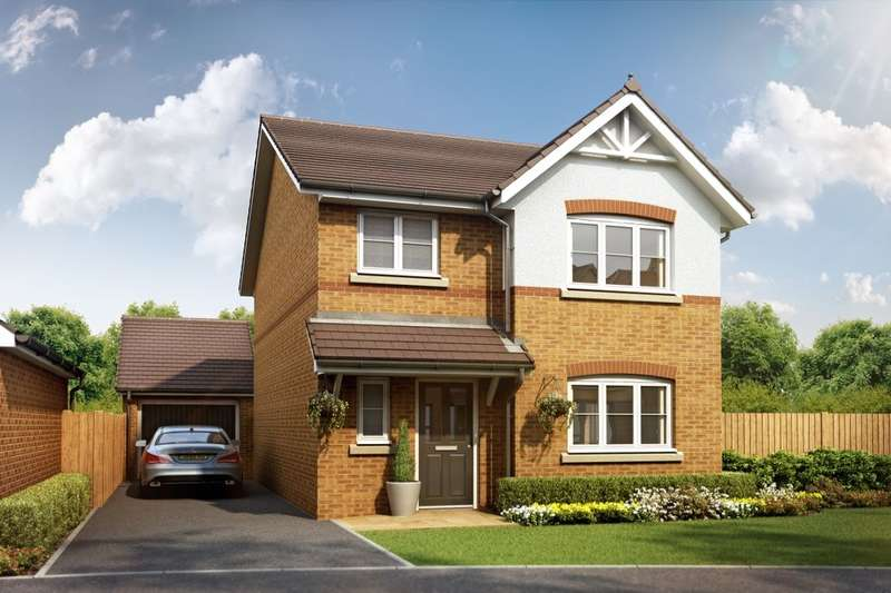 3 Bedrooms Detached House for sale in Greenhill Gate, Penwortham, Preston, PR1