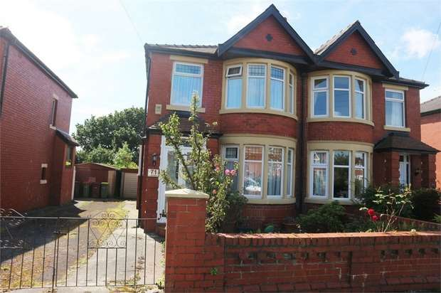 3 Bedrooms Semi Detached House for sale in Glenluce Drive, Preston, Lancashire