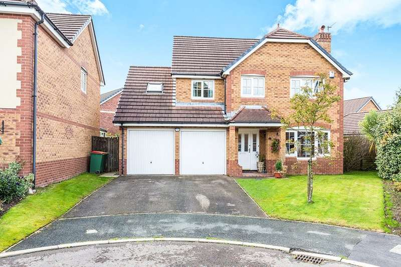 5 Bedrooms Detached House for sale in Wiltshire Mews, Cottam, Preston, PR4