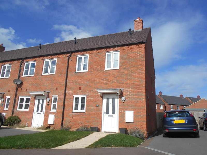 3 Bedrooms End Of Terrace House for sale in Primrose Fields, Bedford, Bedfordshire, MK41 0FG