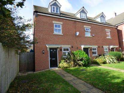 3 Bedrooms End Of Terrace House for sale in Hawthorne Avenue, Long Eaton, Nottingham