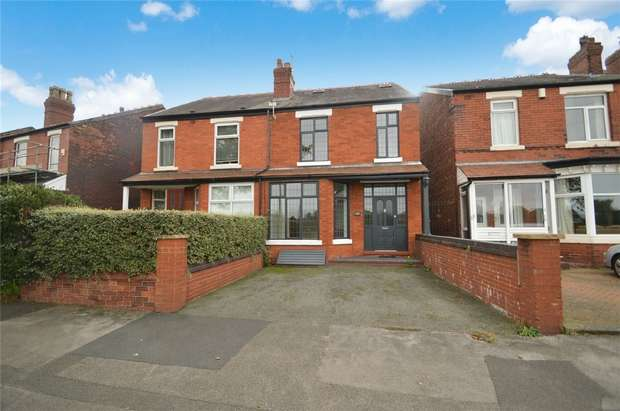 4 Bedrooms Semi Detached House for sale in Woodsmoor Lane, Woodsmoor, Stockport, Cheshire