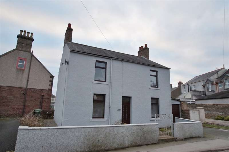 3 Bedrooms Detached House for sale in CA7 3BD Bridge House, Queen Street, Aspatria, Cumbria