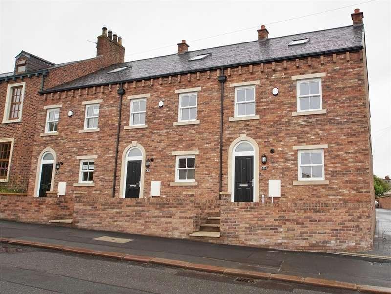 4 Bedrooms Town House for sale in CA3 9JH Eden Place, Stanwix, Carlisle, Cumbria