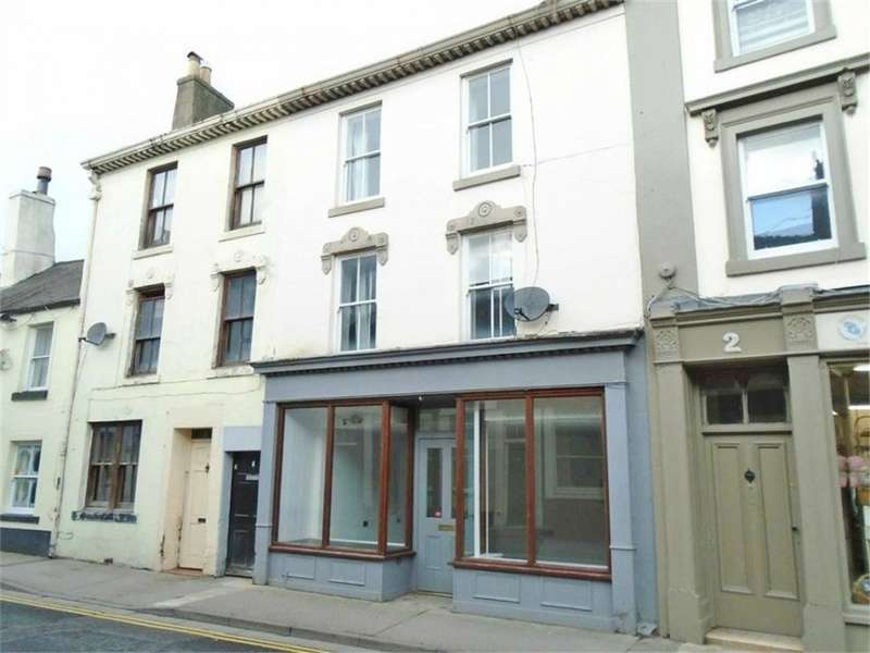 1 Bedroom Town House for sale in CA7 9NP West Street, WIGTON, Cumbria