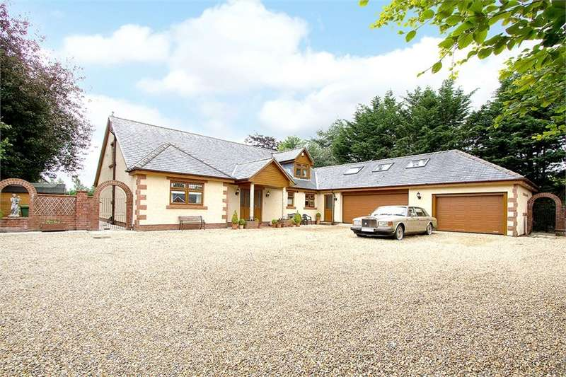 4 Bedrooms Detached Bungalow for sale in CA4 8ET The Green, Wetheral, Carlisle, Cumbria