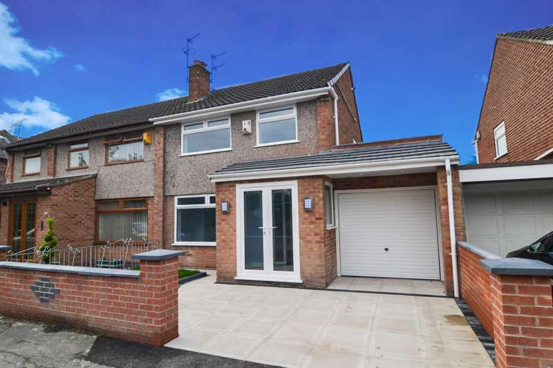 3 Bedrooms Semi Detached House for sale in Keith Avenue, Warrington