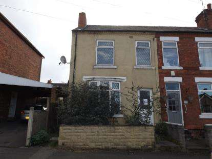 3 Bedrooms End Of Terrace House for sale in Peel Street, South Normanton, Derbyshire, Derbys