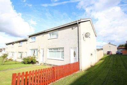 2 Bedrooms End Of Terrace House for sale in Chirnside Court, Blantyre, Glasgow, South Lanarkshire