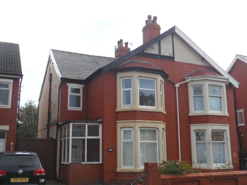 3 Bedrooms Semi Detached House for sale in Warbreck Drive, Blackpool, FY2 9RA