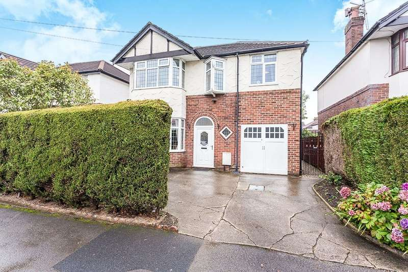 4 Bedrooms Detached House for sale in Hazelmere Road, Fulwood, Preston, PR2