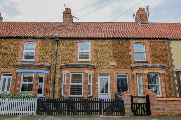 2 Bedrooms Terraced House for sale in 28 Caley Street, Heacham