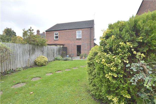 2 Bedrooms Semi Detached House for sale in Hill Close, Westmancote, TEWKESBURY, Gloucestershire, GL20 7EW