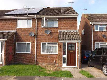 2 Bedrooms End Of Terrace House for sale in Leslie Close, Freshbrook, Swindon, Wiltshire