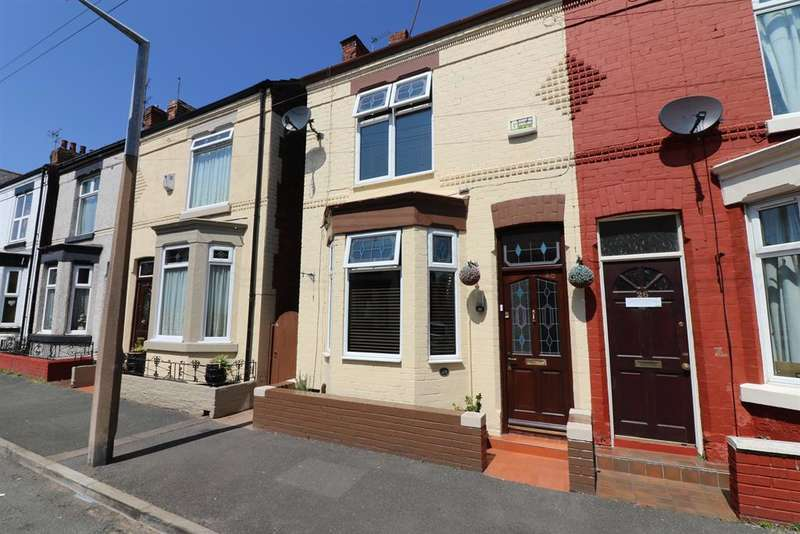 2 Bedrooms Semi Detached House for sale in Brentwood Street, Wallasey, CH44 4BB